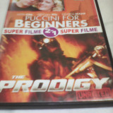 DVD SUPER FILME 2 IN 1PUCCINI FOR BEGINNERS/THE PRODIGY, SUB. ROMANA, ORIGINAL - Film actiune