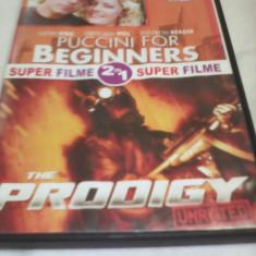 DVD SUPER FILME 2 IN 1PUCCINI FOR BEGINNERS/THE PRODIGY, SUB. ROMANA, ORIGINAL - Film actiune