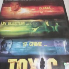 FILM TOXIC, SUBTITRARE ROMANA, ORIGINAL - Film actiune, DVD