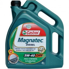 Ulei Castrol MAGNATEC Diesel 5W-40 DPF 5L - Ulei motor