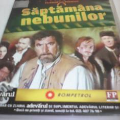 FILM COLECTIA FLORIN PIERSIC-SAPTAMANA NEBUNILOR, ORIGINAL FILMELE ADEVARUL - Film Colectie, DVD, Romana
