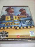 FILM COLECTIA BRIGADA DIVERSE-B.D.LA MUNTE SI LA MARE ,ORIGINAL FILMELE ADEVARUL, DVD, Romana