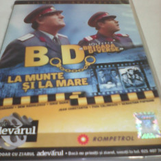 FILM COLECTIA BRIGADA DIVERSE-B.D.LA MUNTE SI LA MARE, ORIGINAL FILMELE ADEVARUL - Film Colectie, DVD, Romana
