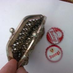 Portofel, poseta metal - Portofel Dama, Culoare: Din imagine, Pentru monezi
