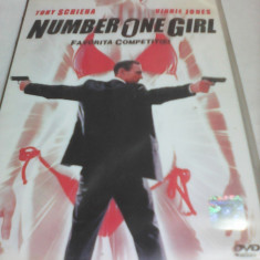 FILM NUMBER ONE GIRL-FAVORITA COMPETITIEI, SUBTITRARE ROMANA, ORIGINAL - Film actiune, DVD