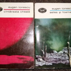Eugen Ionescu - Cantareata cheala. Setea si foamea (Teatru, 2 vol.) - Carte de aventura
