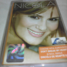 CASETA AUDIO NICOLA -BEST OF NICOLA ORIGINALA CATMUSIC RARA!! - Muzica Pop, Casete audio