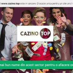 Vanzare domeniu www.cazino.top