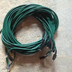 Lot 10 cabluri retea pentru server - Cablu retea