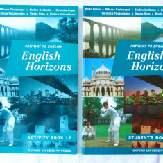 """Pathway to English. ENGLISH HORIZONS. Activity + Student's Book 12"",  1999. Noi"