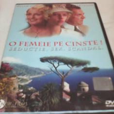 FILM O FEMEIE PE CINSTE, SUBTITRARE ROMANA, ORIGINAL - Film drama, DVD
