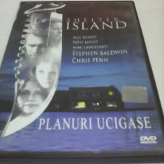 FILM THRILLER SHELTER ISLAND-PLANURI UCIGASE, SUBTITRARE ROMANA, ORIGINAL, DVD