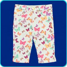 DE FIRMA _ Pantaloni scurti bumbac, talie reglabila, H&M _ fetite | 2-3 ani | 98, Marime: Alta, Culoare: Multicolor, Fete