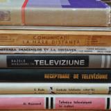 LOT 8 CARTI vechi TELEVIZOARE, ANTENE, TELEVIZIUNE. TV.Telecomunicatii, Retele - Carti Electronica