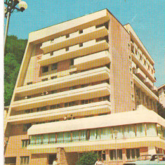CPI (B7244) CARTE POSTALA - SLANIC MOLDOVA. HOTEL PERLA - Carte Postala Moldova dupa 1918, Circulata, Fotografie