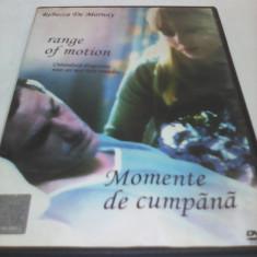FILM MOMENTE DE CUMPANA, SUBTITRARE ROMANA, ORIGINAL - Film drama, DVD