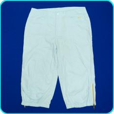 DE FIRMA → Pantaloni ¾, de vara, panza de bumbac, calitate NIKE → femei | D 40 - Pantaloni dama Nike, Culoare: Bleu, Trei-sferturi
