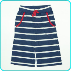 Pantaloni scurti din bumbac, elastic in talie, COTTON PEOPLE _ 5 - 6 ani | 116, Marime: Alta, Culoare: Bleumarin, Baieti