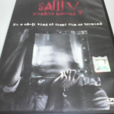 FILM HORROR SAW 5 - PUZZLE MORTAL 5, SUBTITRARE ROMANA, ORIGINAL - Film SF, DVD