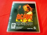 Joc AC/DC Live Rock Band, PS3, original, alte sute de jocuri!, Simulatoare, 12+, Single player, Activision