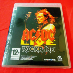 Joc AC/DC Live Rock Band, PS3, original, alte sute de jocuri! - Jocuri PS3 Activision, Simulatoare, 12+, Single player