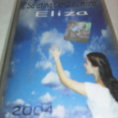 CASETA AUDIO ELIZA-SA ATING CERUL CU MANA - Muzica Ambientala, Casete audio