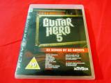 Joc Guitar Hero 5, PS3, original, alte sute de jocuri!, Simulatoare, 12+, Single player, Activision