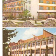 CPI (B7252) CARTE POSTALA - JUD. BISTRITA NASAUD, PRUNDUL BARGAULUI, HOTEL HENIU - Carte Postala Transilvania dupa 1918, Necirculata, Fotografie