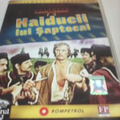 FILM COLECTIA FLORIN PIERSIC-HAIDUCII LUI SAPTECAI, ORIGINAL FILMELE ADEVARUL - Film Colectie, DVD, Romana