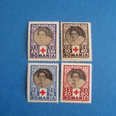 TRNS - CRUCEA ROSIE - AN 1945 - Timbre Romania, Nestampilat