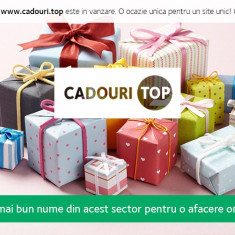 Vanzare domeniu www.cadouri.top