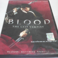 FILM HORROR BLOOD THE LAST VAMPIRE, SUBTITRARE ROMANA, ORIGINAL - Film SF, DVD