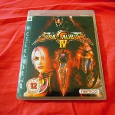 Joc Soul Calibur IV, PS3, original, alte sute de jocuri! - Jocuri PS3 Namco Bandai Games, Sporturi, 16+, Multiplayer