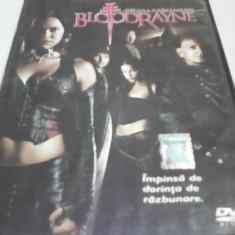 FILM HORROR BLOODRAYNE REGINA VAMPIRILOR, SUBTITRARE ROMANA, ORIGINAL - Film SF, DVD