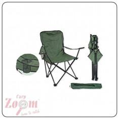 Scaun Carp Zoom pliabil Cu Suport de Pahar 53x43x41/94cm CZ1390 - Mobilier camping
