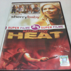 FILM DVD SUPER FILME 2 IN 1 SHERRY BABY/MOSCOW HEAT, SUBTITRARE ROMANA, ORIGINAL - Film actiune
