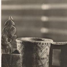 CPI (B7285) CARTE POSTALA - CUPA SI SARARITA DIN REG. MARAMURES - Carte Postala Maramures dupa 1918, Necirculata, Fotografie