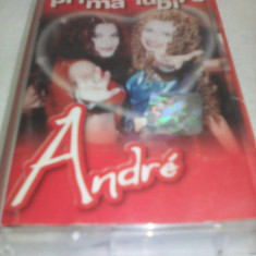CASETA AUDIO ANDRE - PRIMA IUBIRE ORIGINALA CATMUSIC - Muzica Pop, Casete audio