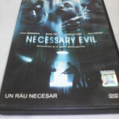 FILM HORROR NECESSARY EVIL UN RAU NECESAR, SUBTITRARE ROMANA, ORIGINAL - Film SF, DVD