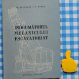 Indrumatorul mecanicului escavatorist M Racstain V Fonda