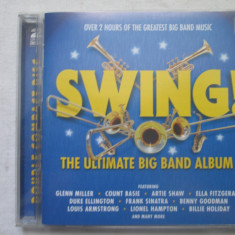 Various ‎– Swing! - The Ultimate Big Band Album dublu CD, EU - Muzica Jazz Altele