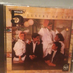 FIVE STAR - LUXURY OF LIFE (1985/RCA REC/ GERMANY) - CD NOU/Sigilat/Original - Muzica Pop rca records