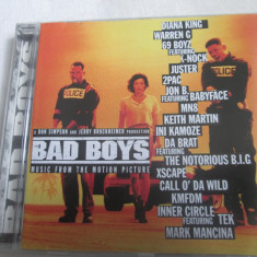 Various – Bad Boys - Music From The Motion Picture CD, EU - Muzica soundtrack Altele
