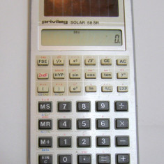 Calculator buzunar stiintific solar Privileg 58 SR(174) - Calculator Birou