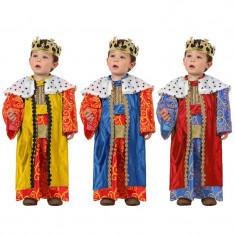 Costum Rege Mag baieti 1-2 ani - Carnaval24