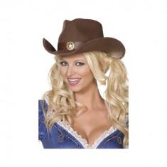 Palarie Cowboy - maro - Carnaval24