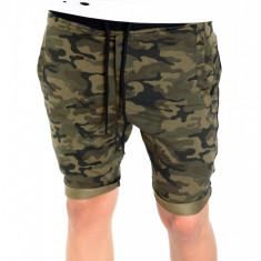 Pantaloni de trening scurti tip ZARA camuflaj - pantaloni barbati 6397 - Bermude barbati, Marime: S, M, L, XL, XXL, Culoare: Din imagine