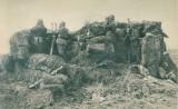 WW1 POST DE OBSERVATIE ARTILERIE ARMATA FRANCEZA CARTE  POSTALA, Franta, Circulata, Printata