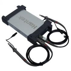 Osciloscop digital portabil USB Hantek 6022BE 2CH 20MHz nou