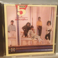 FIVE STAR - SILK & STEEL (1986/ RCA REC/ GERMANY) - CD NOU/Sigilat/Original/Soul - Muzica Pop rca records